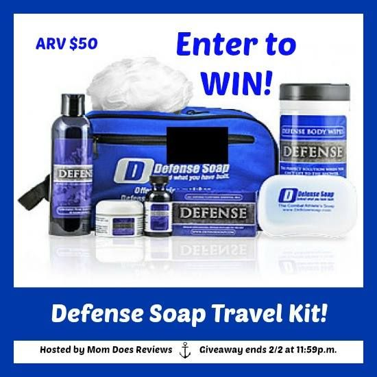 Defend Your Skin On The Go With The Defense Soap Travel Kit - Giveaway Jan 26- Feb 2, 2016