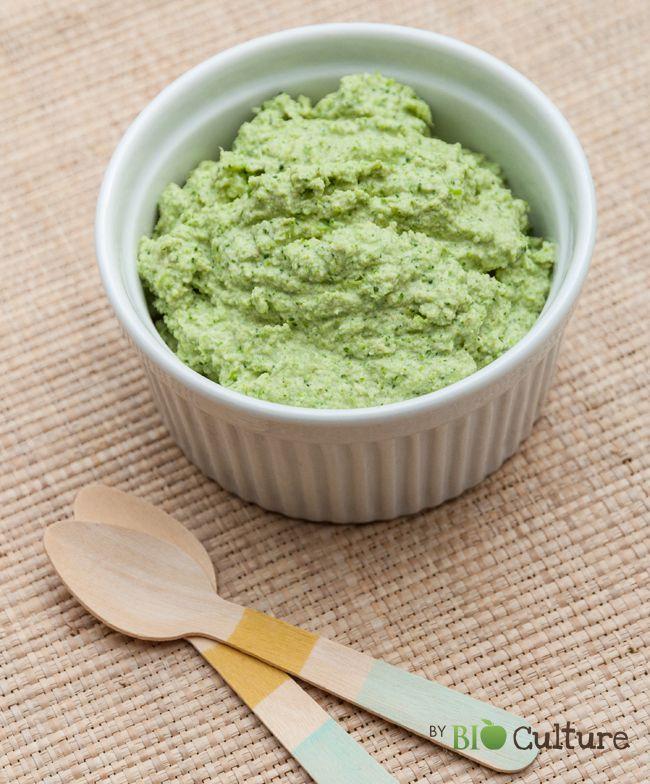 Ce pesto de brocoli cru peut se tartiner sur des toasts, se mélanger aux pâtes, être ajouter dans vos soupes… Pour1 pot Temps de préparation :5 min