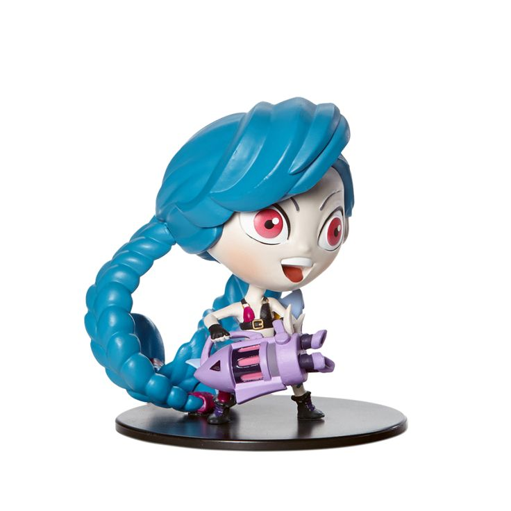 Jinx figure from LoL - Riot Merch store