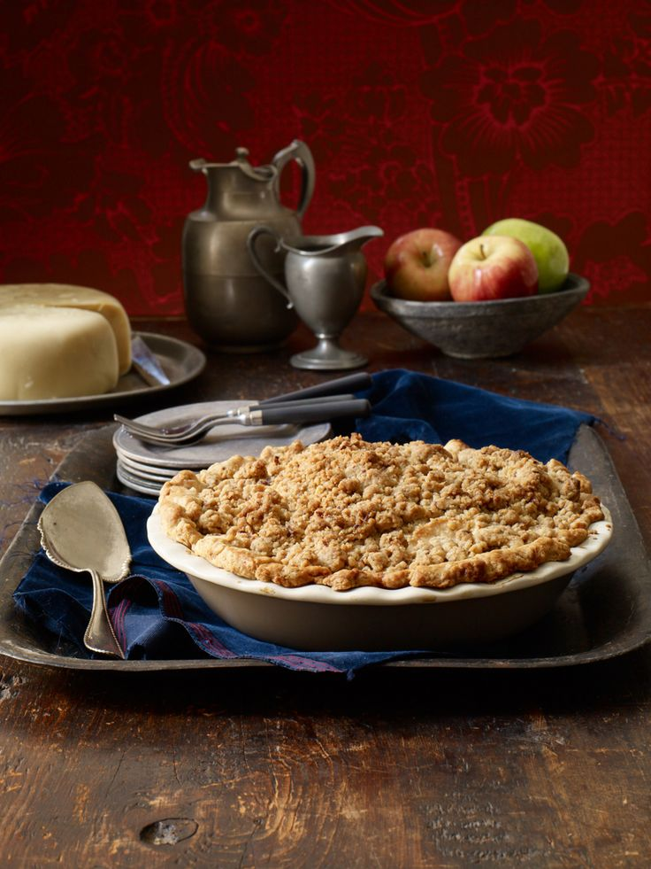 ... brown sugar streusel makes this apple pie with crumb topping a holiday