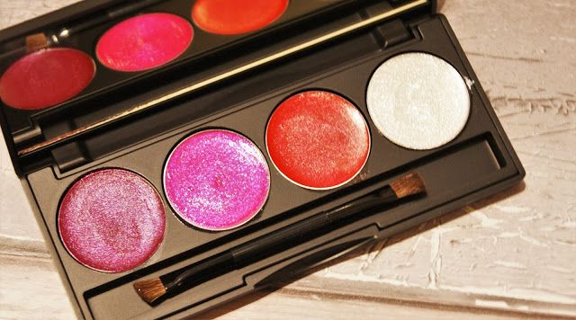 Scream & Pout Glitterbomb Be-Jewelled Lip Palette. November favourite by blogger A Life with Frills.
