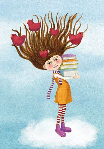 O Lobo Leitor: A leitura ilustrada de hoje: Mónica Carretero III #livres #books