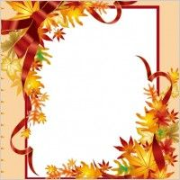 Fall Borders Clip Art | Free vector about free fall clip art border (about 13 files)
