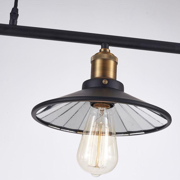 """Lampa wisząca ROTTERDAM P03215BK MIR - Evolution Home  Industrialny """"look"""" lampy Rotterdam będzie tworzyć atmosferę w lofcie, ale nie tylko - lampa sprawdzi się również jako oświetlenie kuchenne. Istnieje możliwość dowolnej zmiany wysokości dzięki czemu natężenie światła na stołem w kuchni lub blatem można dopasować do aktualnych potrzeb."""