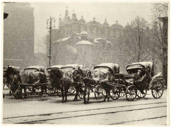 Zdjęcia Kraków: Zima w Krakowie lat 30-tych [zdjęcia] fotoreportaże, wiadomości, sport, kultura, biznes, natura