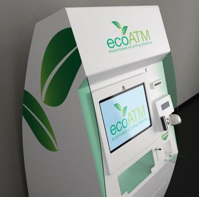 The ecoATM: Very cool ...recycle your tech gear for cash.