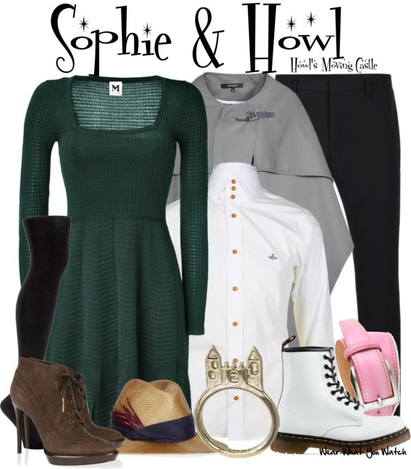 Inspired by characters Sophie and Howl from the 2004 anime film Howl's Moving Castle.