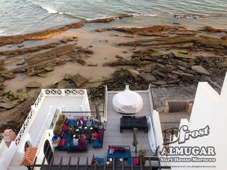 Dfrost Almugar Surf & Yoga House, Morocco Yoga Terrace view