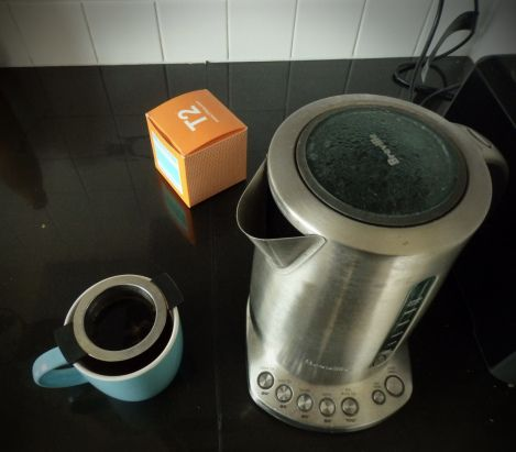 Smoking Accident: Reviewing T2's Lapsang Souchong tea