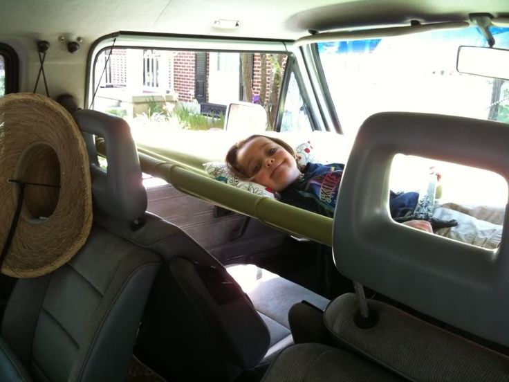 Vw Van Front Seat Hammock Room Above For Child Dogs