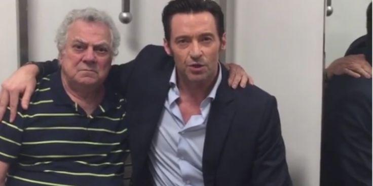 EMOCIONANTE! Hugh Jackman posta vídeo com Issac Bardavid, dublador brasileiro do Wolverine