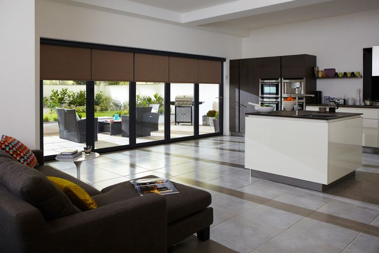 Roller Blinds for Bi Folding Doors and Sliding Doors | Vision Door Systems