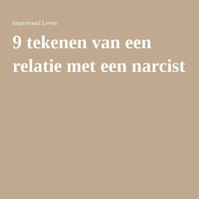 9 tekenen van een relatie met een narcist