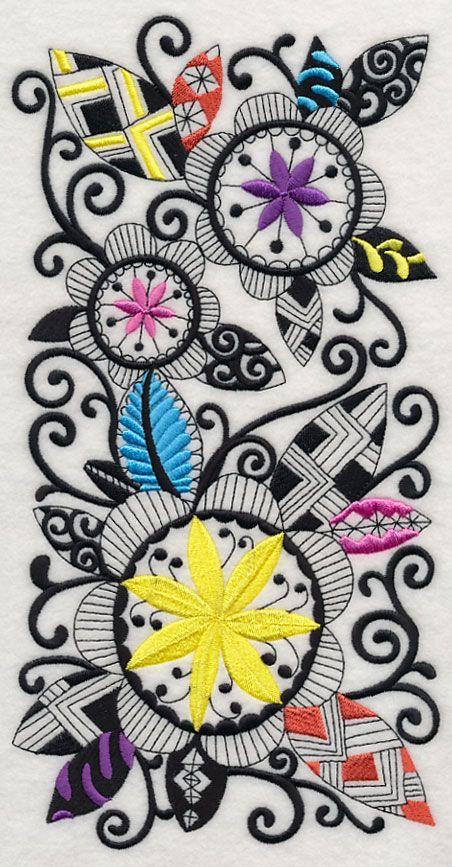 Best images about machine embroidery zentangle like on