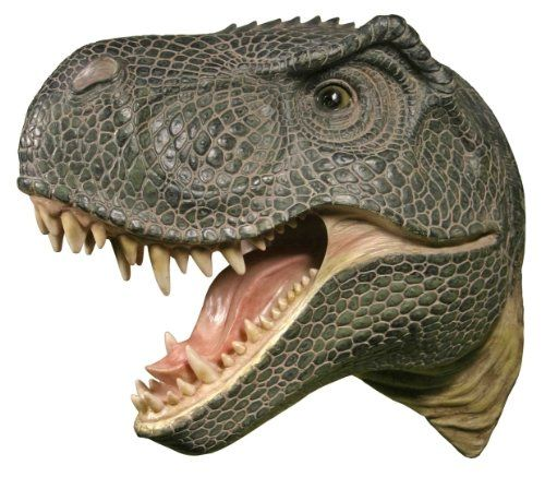 T-Rex Wall-Mounted Head | Geek Decor