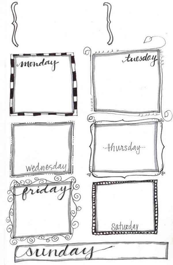 1617 best Planners images on Pinterest Free printables, Planner - printable weekly planner