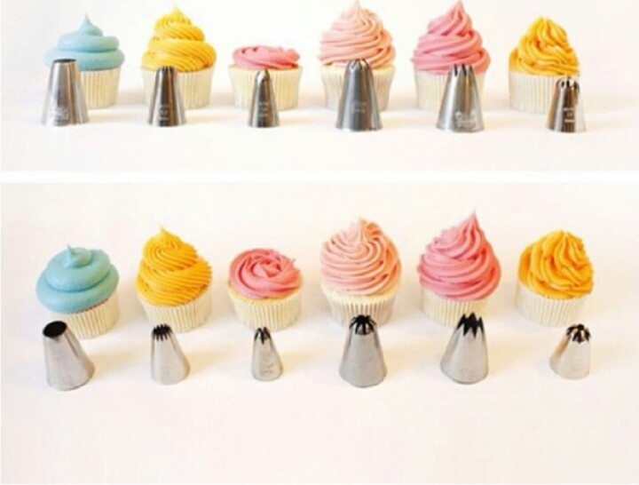 More Cupcake decorating tips