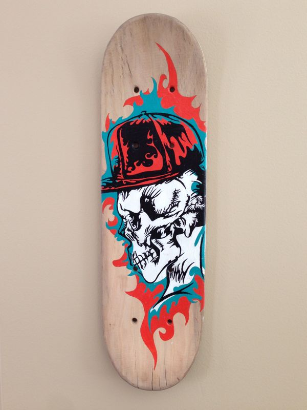 98 Best Images About Skate Board Deck Art On Pinterest
