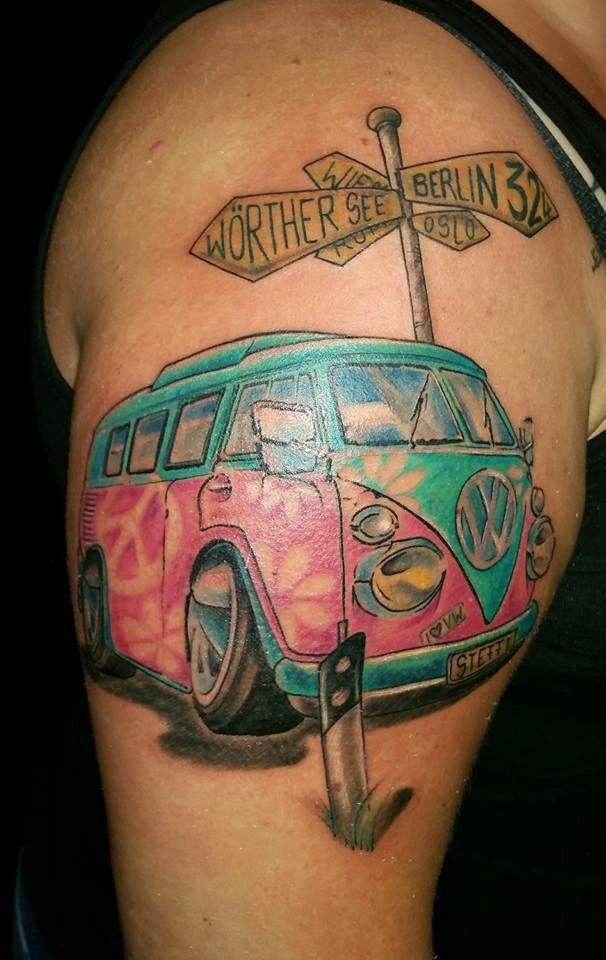 New Tattoo bulli t1 vw | Bulli | Tattoos, Tattoo designs ...