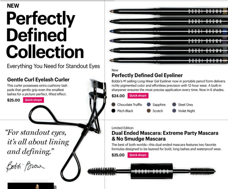 NEW Perfectly Defined Collection| BobbiBrown.com