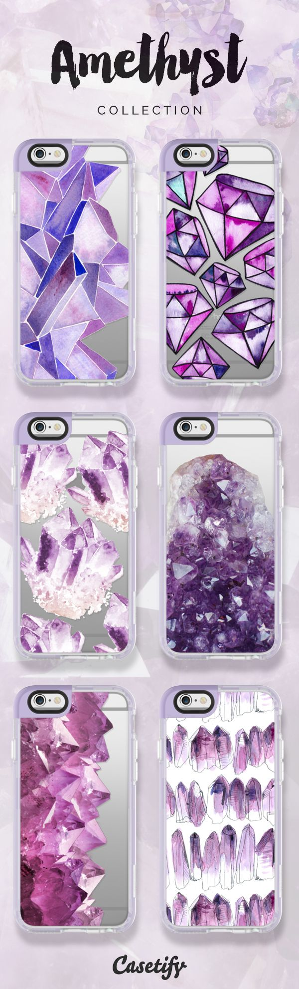 We are all about these #amethyst designs! Shop them here >>> https://www.casetify.com/artworks/RMRuKhx4jR | @casetify