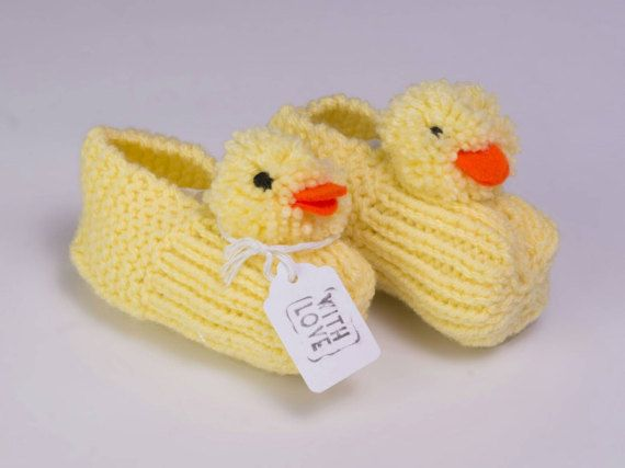 465 best little people dress images on pinterest babies baby these adorable knitted duck booties are made with super soft wool great for a baby shower or new baby gift these duck slippers would also make a lovely negle Images