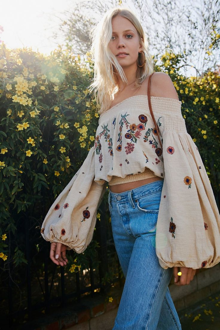 Saachi Smocked Top | Free People
