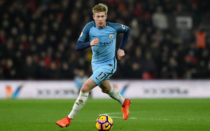 Download wallpapers Kevin De Bruyne, 4k, footballers, Manchester City, Premier League, soccer, Man City