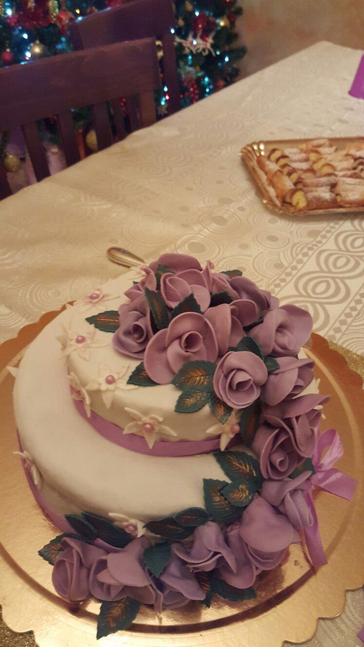 Torta di compleanno fatta per mia sorella Donata