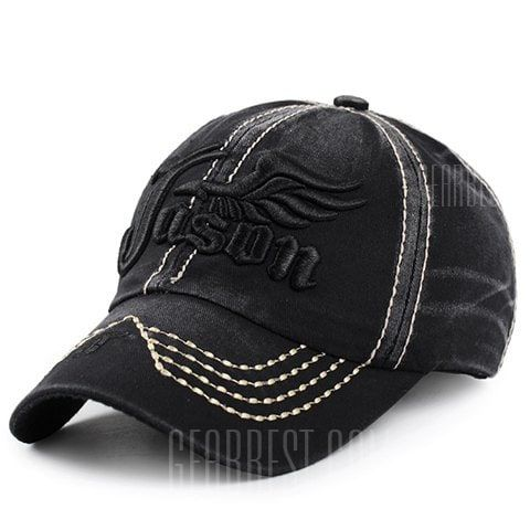 db54858d841 Stylish Letter and Wing Embroidery Baseball Cap For Men in 2019 ...