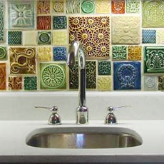 Wish I'd seen this before I did my backsplash. Love!