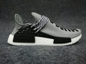 58d4c427bff73 2018 Pharrell Williams X adidas Boost NMD Human Race Grey White Adidas Shoes