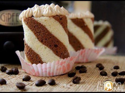 Пирожное Капучино  Рецепт выпечки