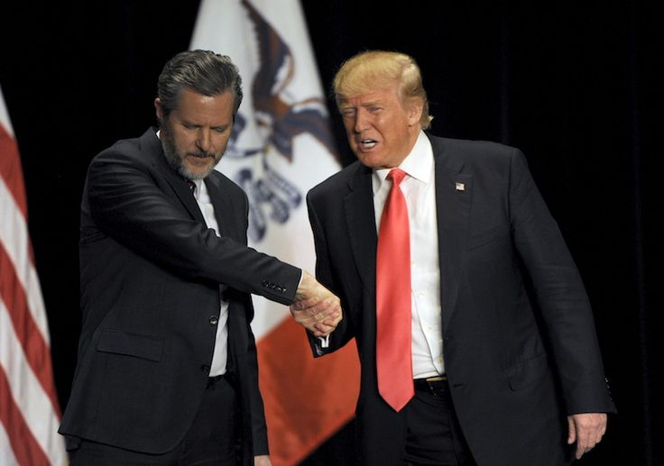 """Todayin the Washington Post, columnist Michael Gerson explained why Jerry Falwell Jr. and other Court Evangelicals are so attracted to Donald Trump: Evangelicals do not have a """"body of socia…"""