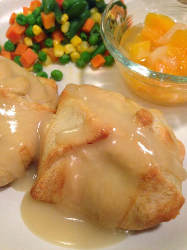 Chicken Puffs | Chicken | Pinterest