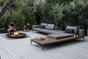 What do you think of this setup for the backyard sitting area?