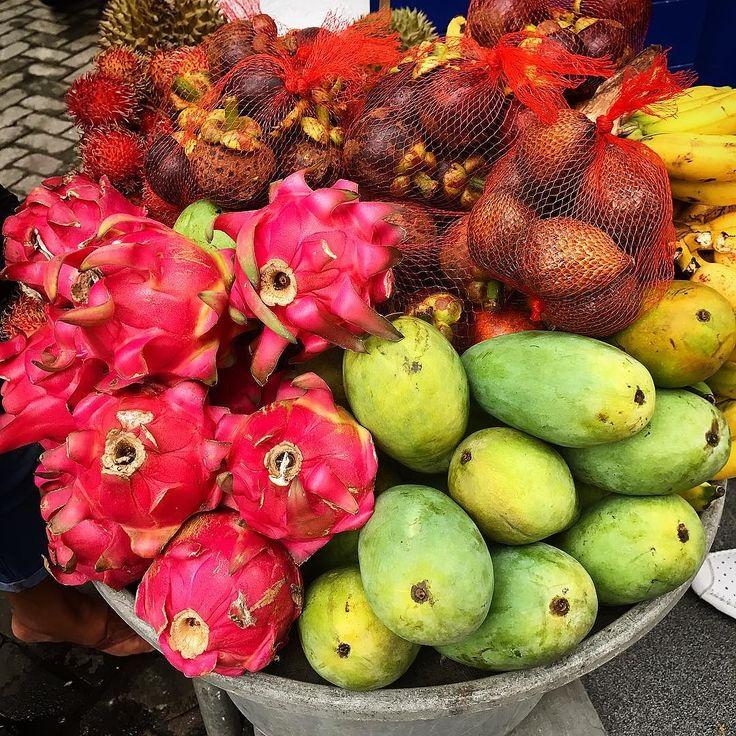 Tropical fruits in Bali!