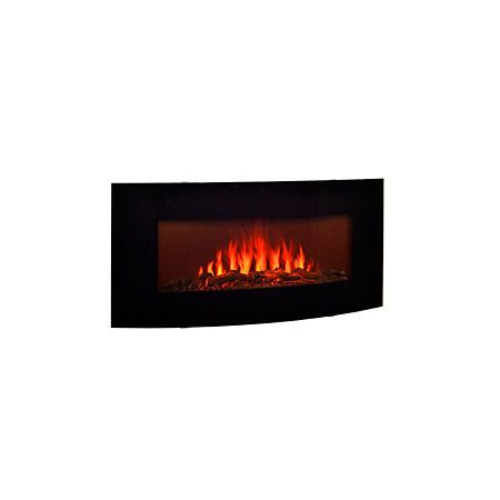 View Blyss Madison Black Electric Fire details