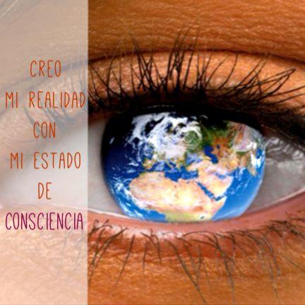 Somos los únicos responsables de nuestra realidad porque la creamos a partir de nuestro estado de consciencia. Si cada uno de de nosotros eleváramos el estado de consciencia... Cuán cambiado veríamos el mundo? Cuánto cambiaría nuestra realidad? El camino es hacia adentro pero se recorre hacia afuera.