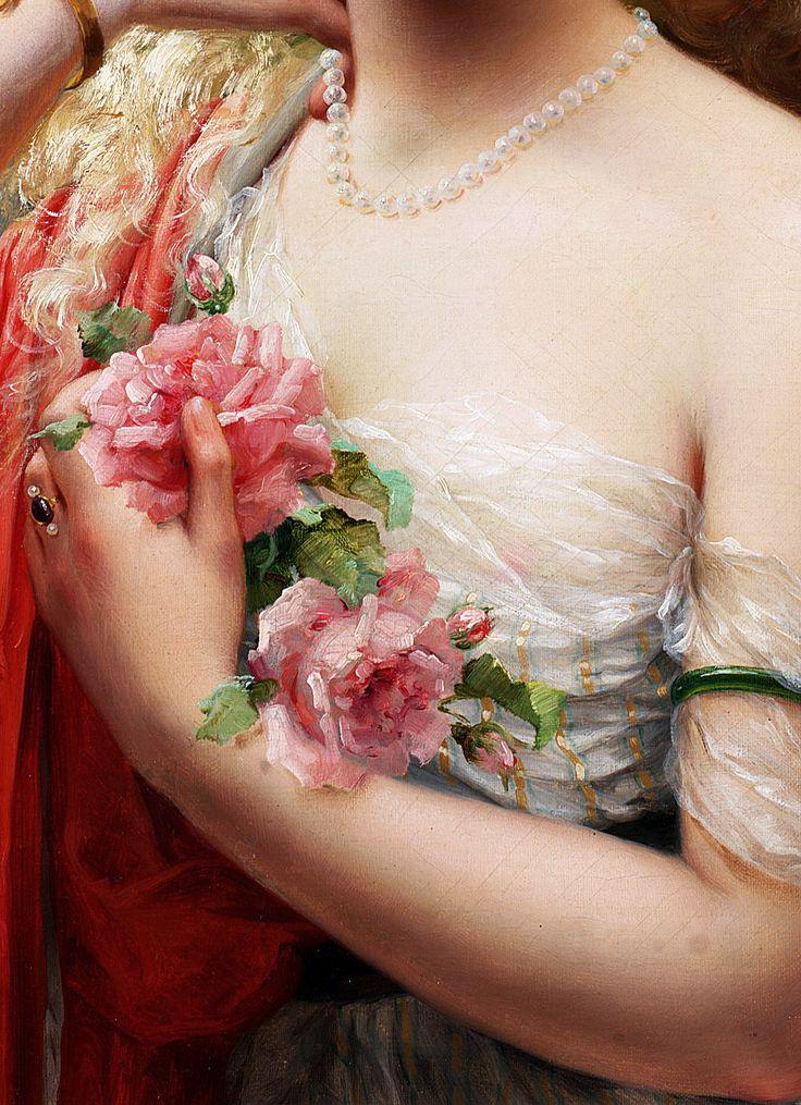 Emile Vernon,La printemps,1913,detail..