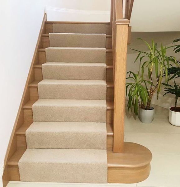 Best Great To See This One Finished Oak Stairs With Carpet 400 x 300