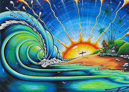 luuuubbbb drew brophy surf art                                                                                                                                                                                 More