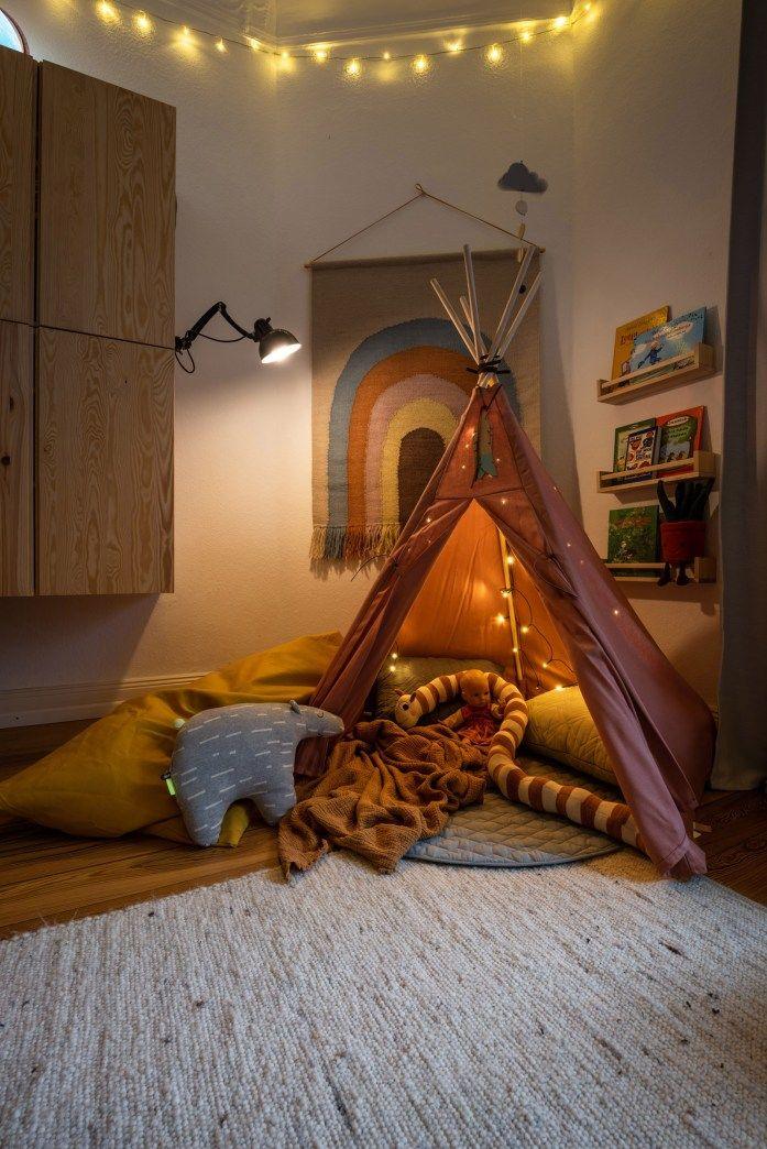 Shop my interior – Das Kinderzimmer – Ein Tipi im Kinderzimmer wird zu einer…