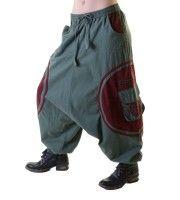 Unisex Psy Baggy Pants Hippie Hose Goa Baumwoll Tanzhose