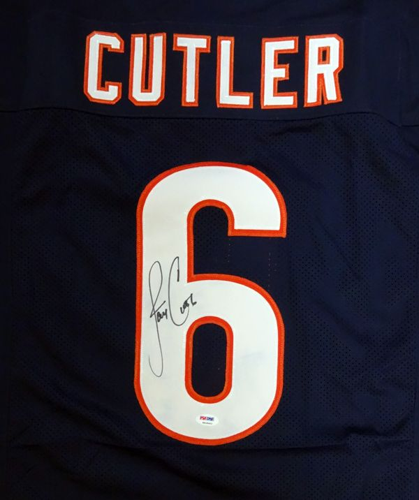 f8bae6c316d ... italy chicago bears jay cutler autographed blue jersey psadna mens nike  chicago bears 6 e6824 c5306