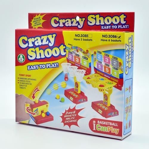 Crazy Shoot Easy To Play Basketball Game