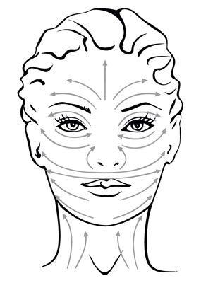 Massagem facial realizada principalmente pela nossa esteticista Ivete Neves Saab!!