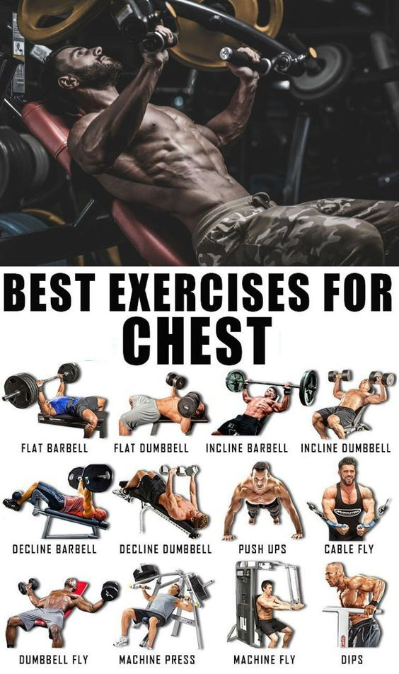 ? 3 BEST EXERCISE FOR CHEST ?Target muscles: pectoral, middle, lower and …