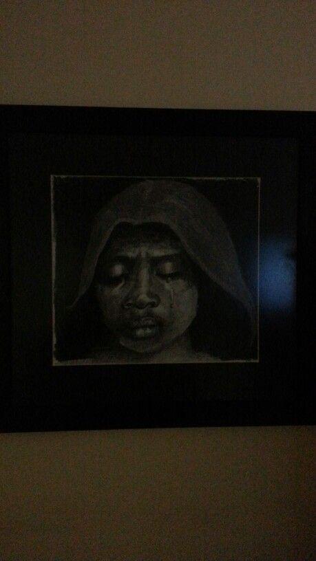 The initiate.  Pencil. 2012