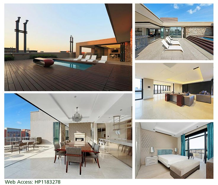 THE EPITOME OF PENTHOUSE LIVING: Melrose Arch Take a look at one of our #SignatureProperties for the week. Luxurious apartment living in Melrose Arch. For more info on this superlative property: http://bit.ly/1tAnKKH